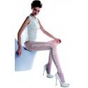 Charme 05 - Collant blanc mariage - Gabriella