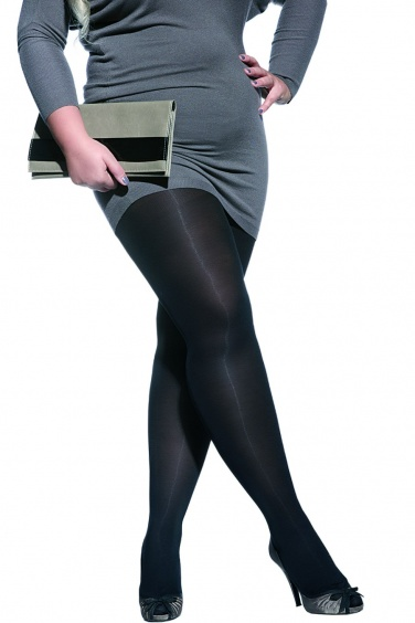 Amy - Collant opaque Grandes tailles femmes rondes - Adrian