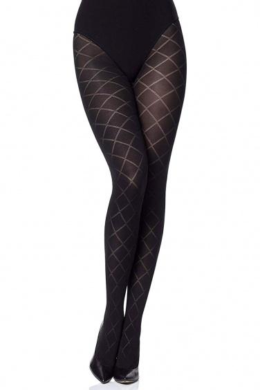 Savia - Collant Femme Grande Taille Opaque 60 den- Gabriella