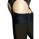 Leila - Bas Opaque Taille 5 pour Porte Jarretelles Veneziana