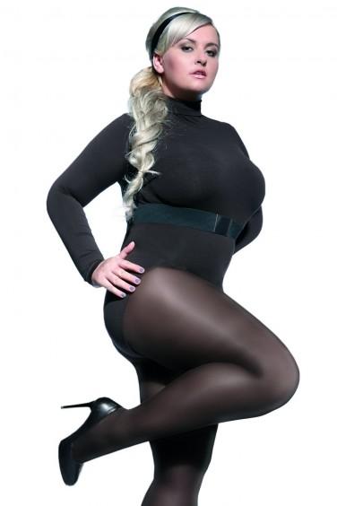 Perla - Collant Femme Ronde semi Opaque 40den - Adrian