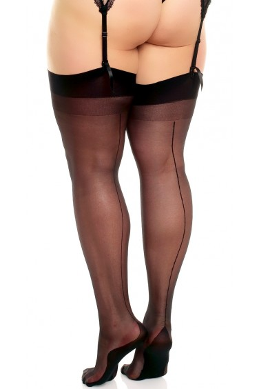 Delight - Bas Sexy Grandes Tailles avec Couture - Glamory