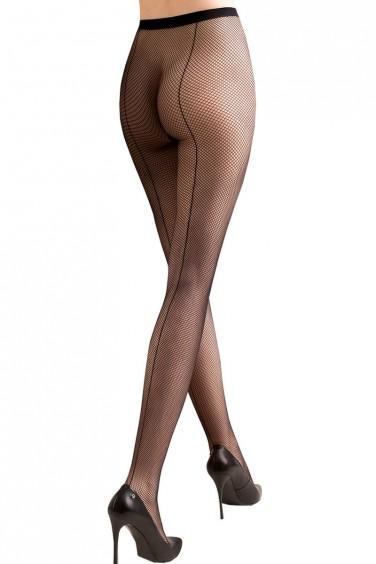 Kabarette 155 - Collant Sexy Résille à Couture - Gabriella