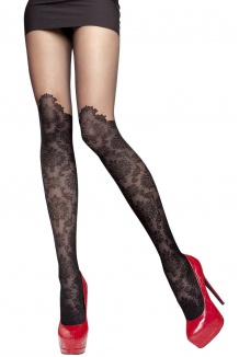 Bas Ballerina 390 sexy glamour noir autofixant - Livraison Gratuite dadb21b669f