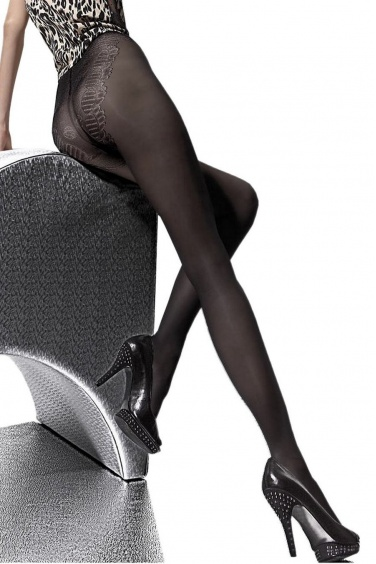 Lena - Semi opaque forme bikini 40den