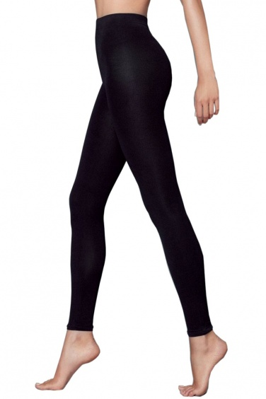 Deborah - Legging noir chaud pour hiver