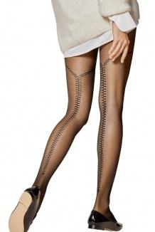 Collant femme opaque noir grande taille 40 den - Gladis Fiore 9e10d94a6ce