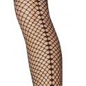 Salire - Collant sexy résille effet couture - Fiore